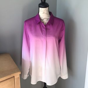 Rare find! Calvin Klein ombré purple dress shirt!